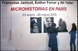 Passing On the Value of Microhistories. Espaivisor Gallery. Spain. 2015.